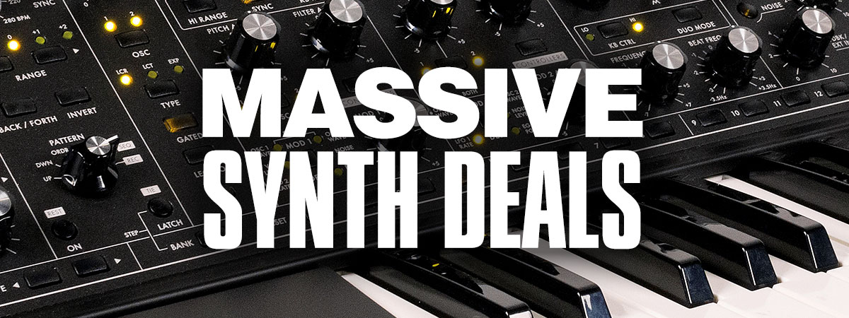 Massive Synth Deals