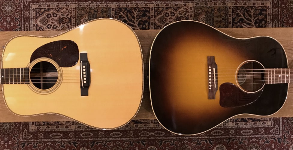 Iconic Acoustic Guitar Models