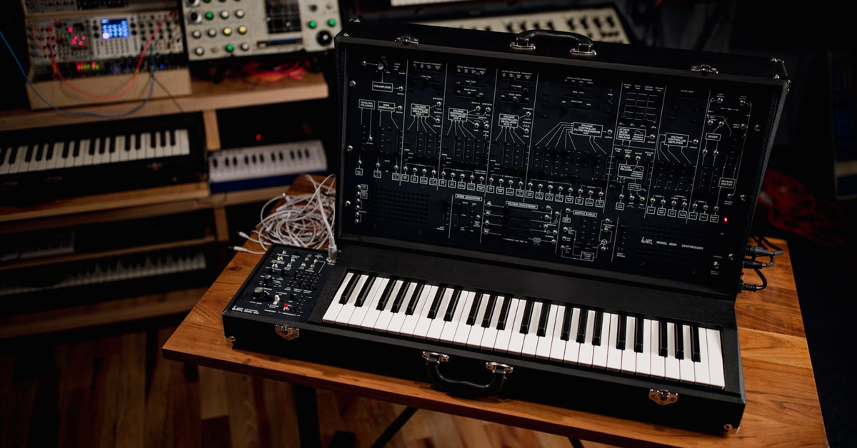 ARP 2600 Synthesizer Reissue Unveiled by Korg