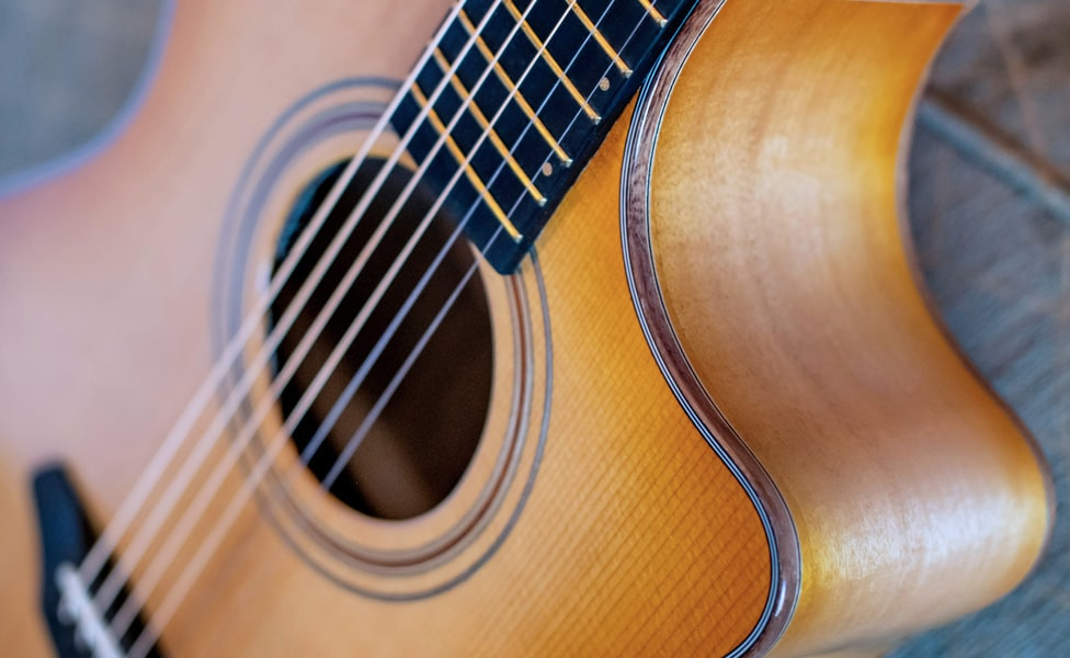 A closer look at the high-end appointments of the Breedlove Organic Artista model guitars