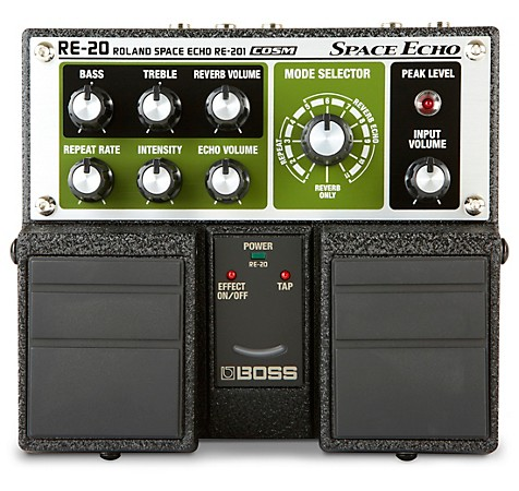BOSS RE-20 Space Echo Delay and Reverb Pedal