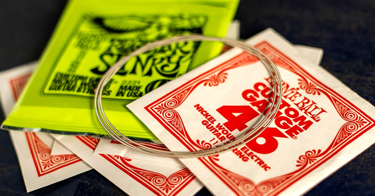 How to Choose the Best Electric Guitar Strings