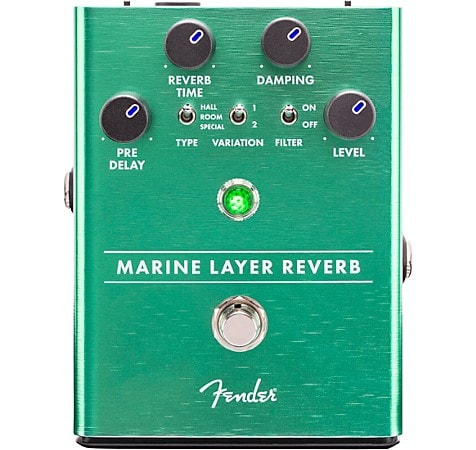 Fender Marine Layer Reverb Guitar Pedal