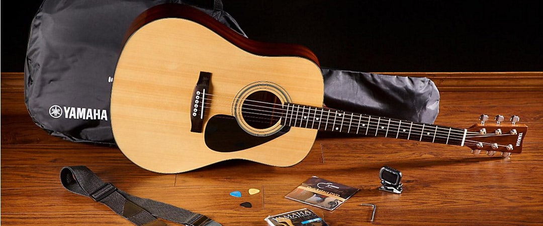 Yamaha Facoustic Guitar Pro Pack
