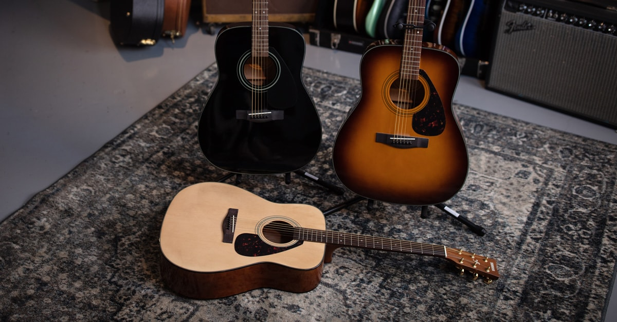 7 Acoustic Guitars Under $200