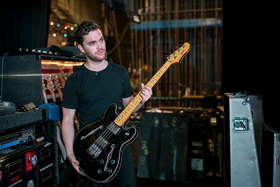 Standard Jaguar Bass Electric Guitar