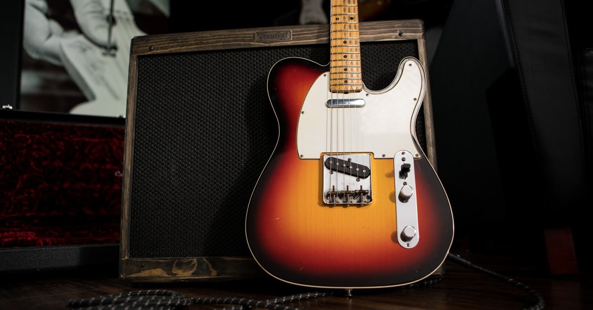 Fender Custom Shop Eric Clapton Blind Faith Telecaster | Crossroads Collection