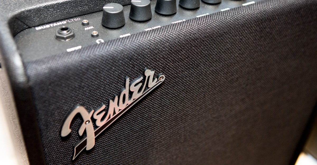 Introducing Fender's New Mustang GTX and Mustang LT Combo Amps