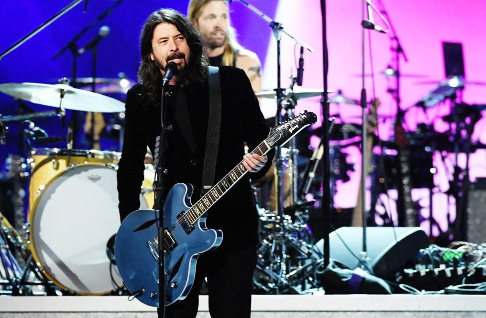 "Foo Fighters perform at ""Let's Go Crazy"" Prince Tribute - Courtesy of the Recording Academy®/ Getty Images © 2020"