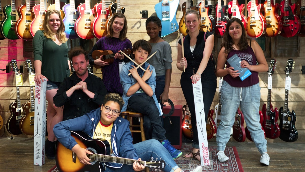 Guitar Center Relaunches Its Music Foundation