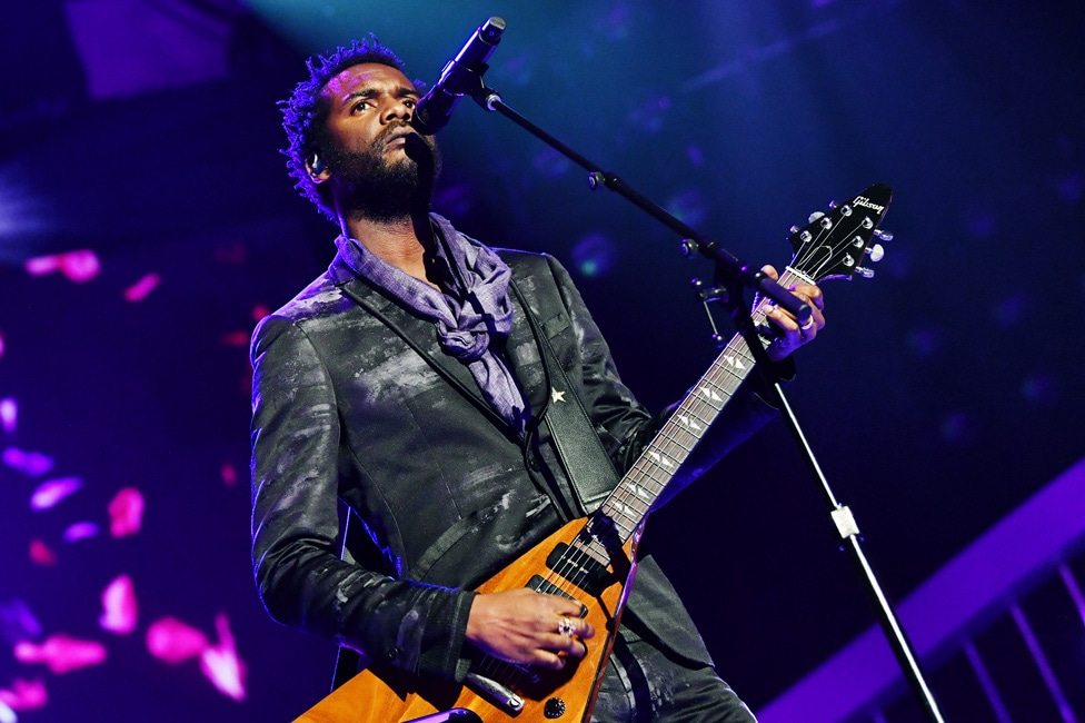 "Gary Clark Jr. performs at ""Let's Go Crazy"" Prince Tribute"