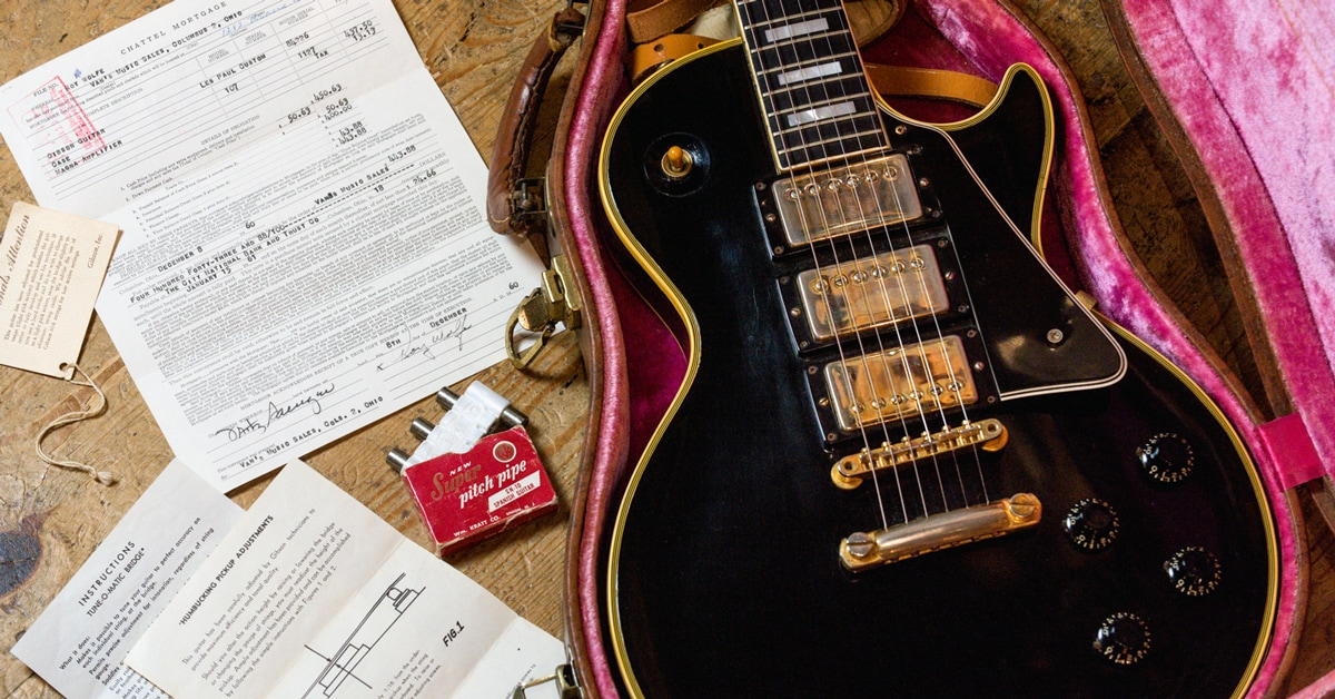 Vintage Guitar Finds | 1958 Gibson Les Paul Custom