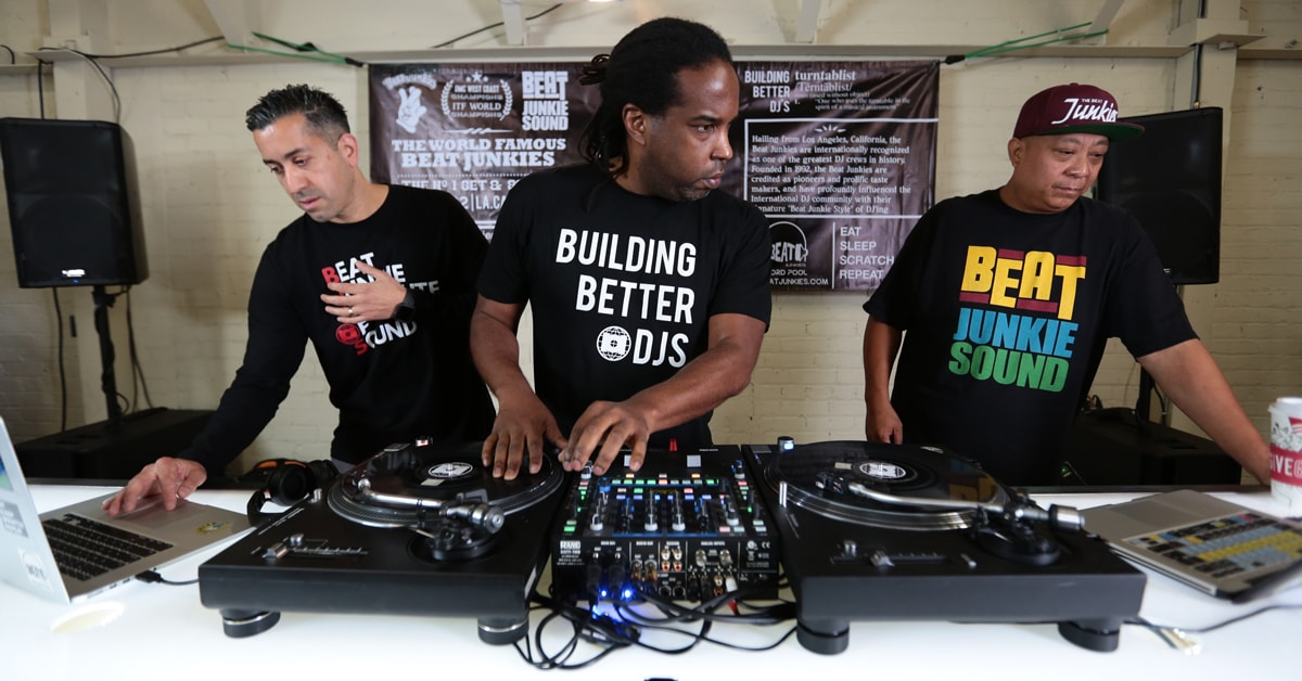 How To: Scratch DJ Techniques with the Beat Junkies