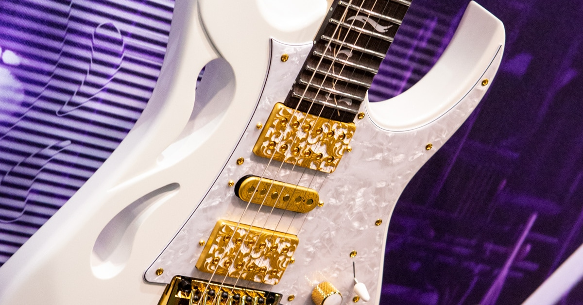 Introducing the Ibanez Steve Vai Signature PIA