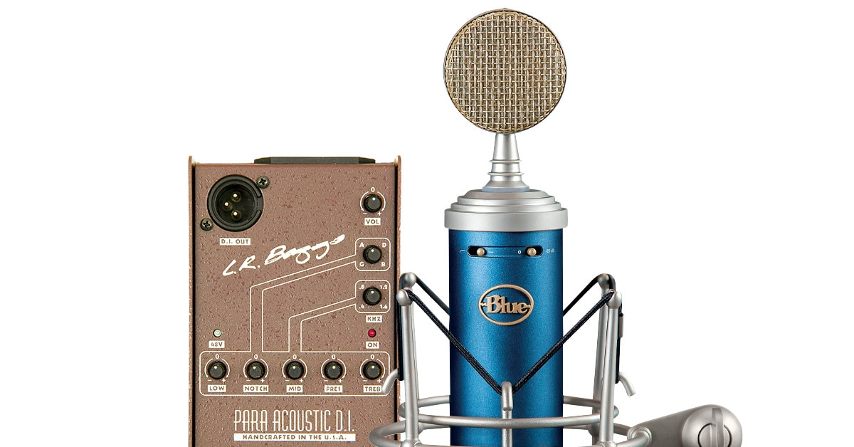 Recording Acoustic Guitar: Microphone, DI or Both?