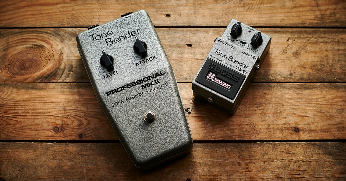The History of the Tone Bender