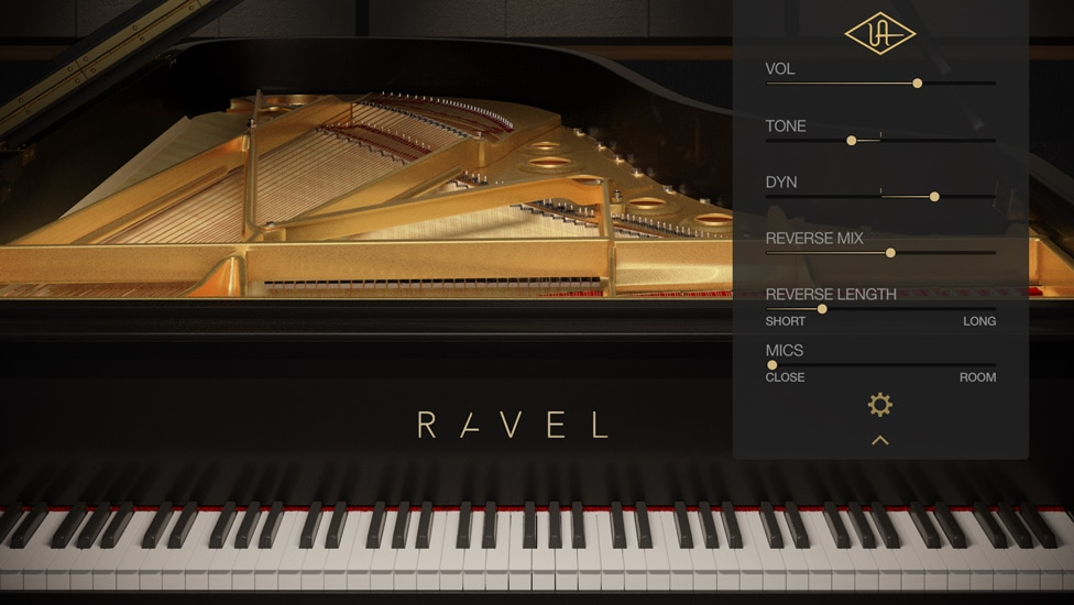 A closer look at the RAVEL GUI