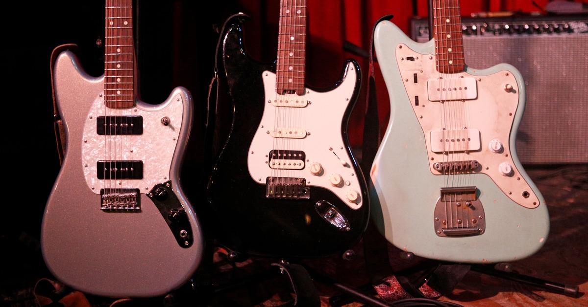 Rebecca Lovell's Touring Guitars'