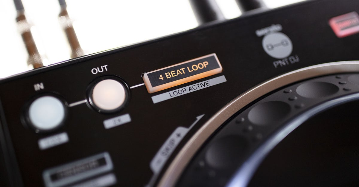 The Loop section of the Pioneer DJ DDJ-1000SRT