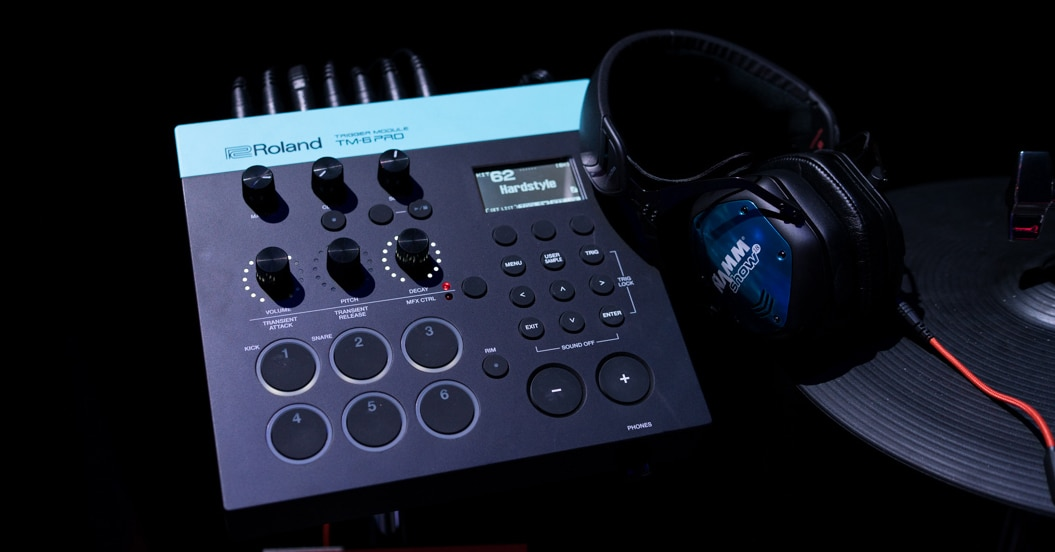The new Roland TM-6 PRO Trigger Module at NAMM 2018
