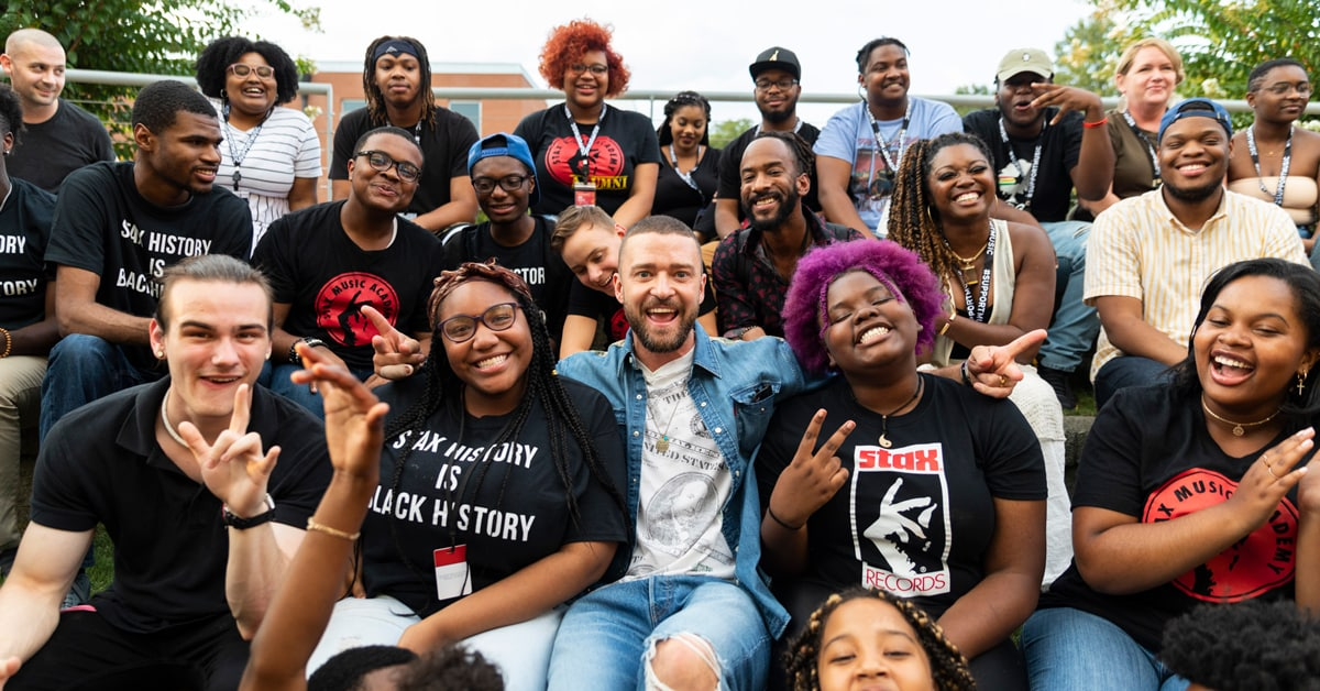 Stax Music Academy: Levi's Music Project and Justin Timberlake foster the next generation of Soul Communicators