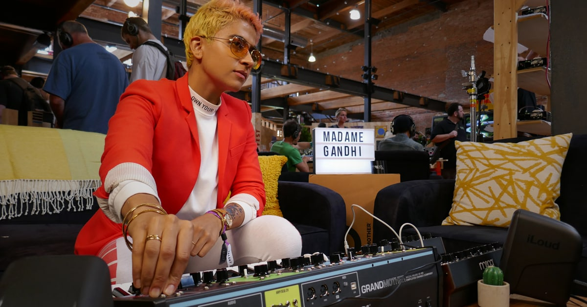 Madame Gandhi at Moogfest 2018