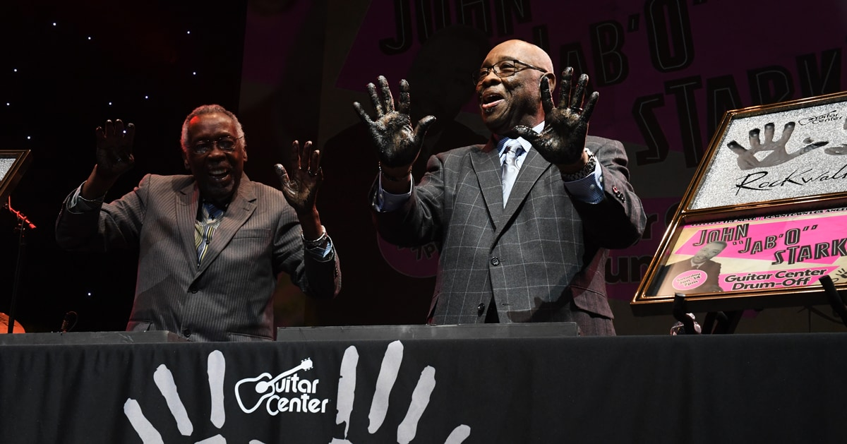 "John ""Jab'o"" Starks, legendary James Brown drummer and RockWalk inductee, has died"