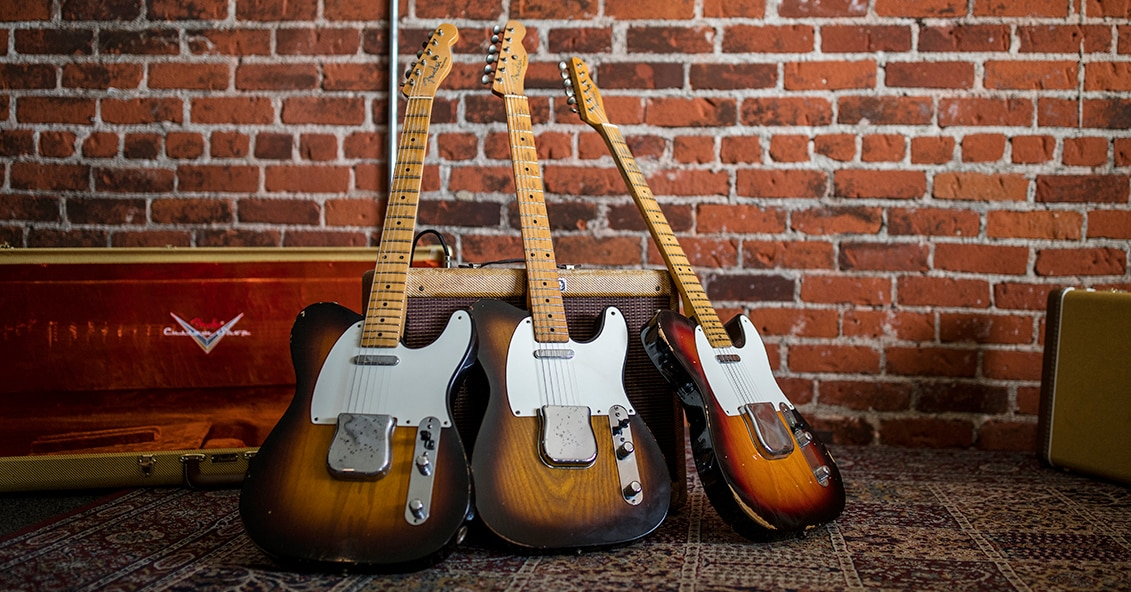 Guitar Center and Fender Custom Shop Recreate Joe Bonamassa's Sunburst '55 Fender Telecaster
