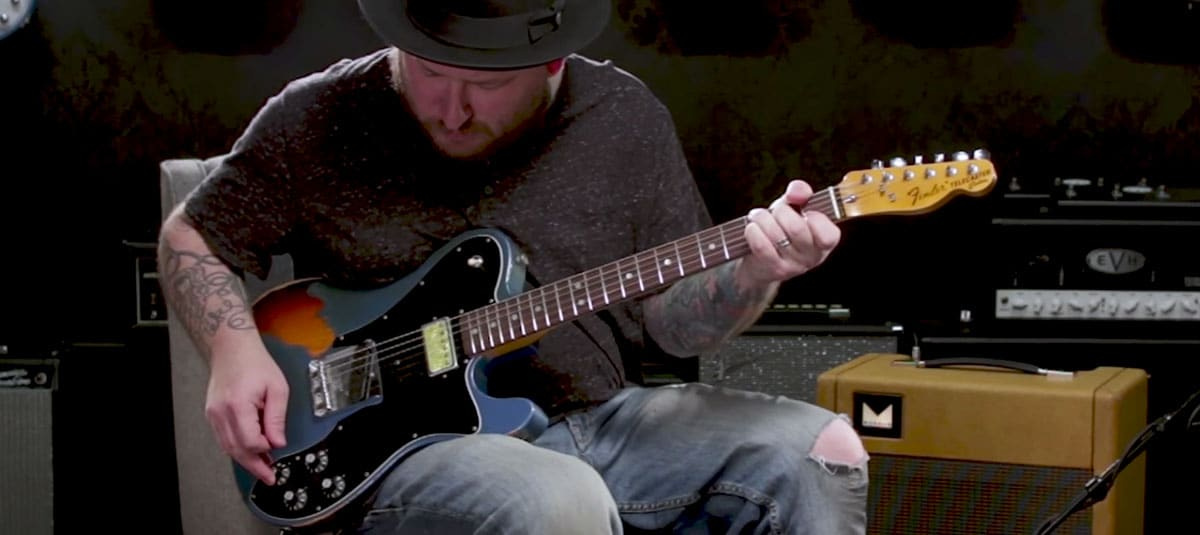Josh Smith Demos the Fender Custom Shop '72 Imperial Arc