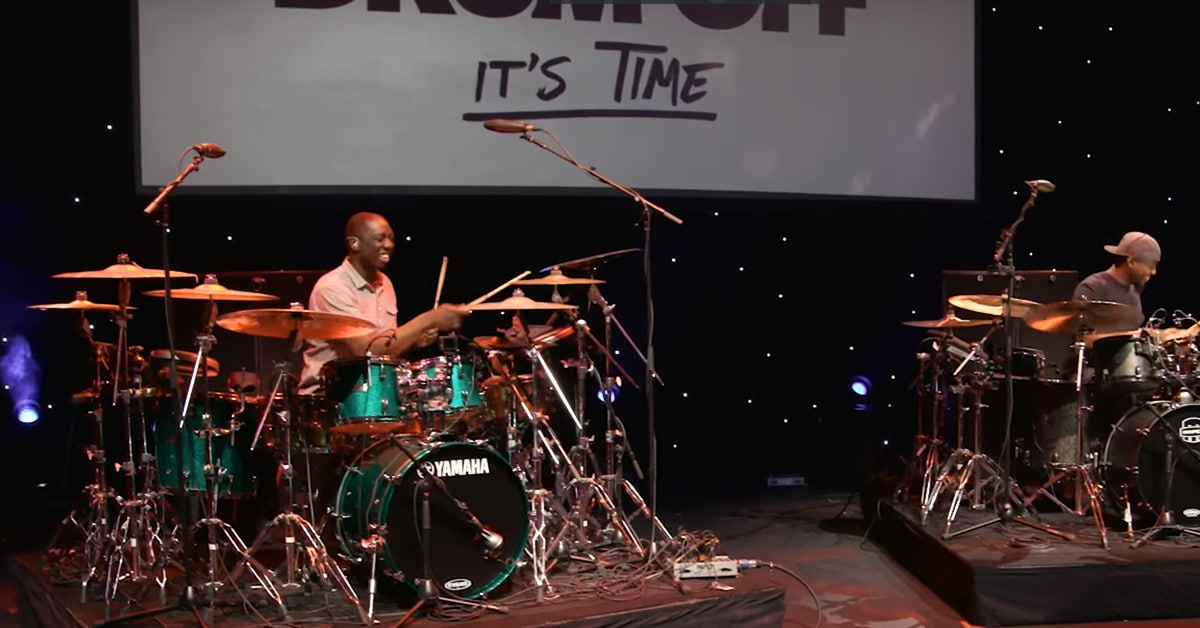 Larnell Lewis & Rashid Williams - Guitar Center's 28th Annual Drum-Off