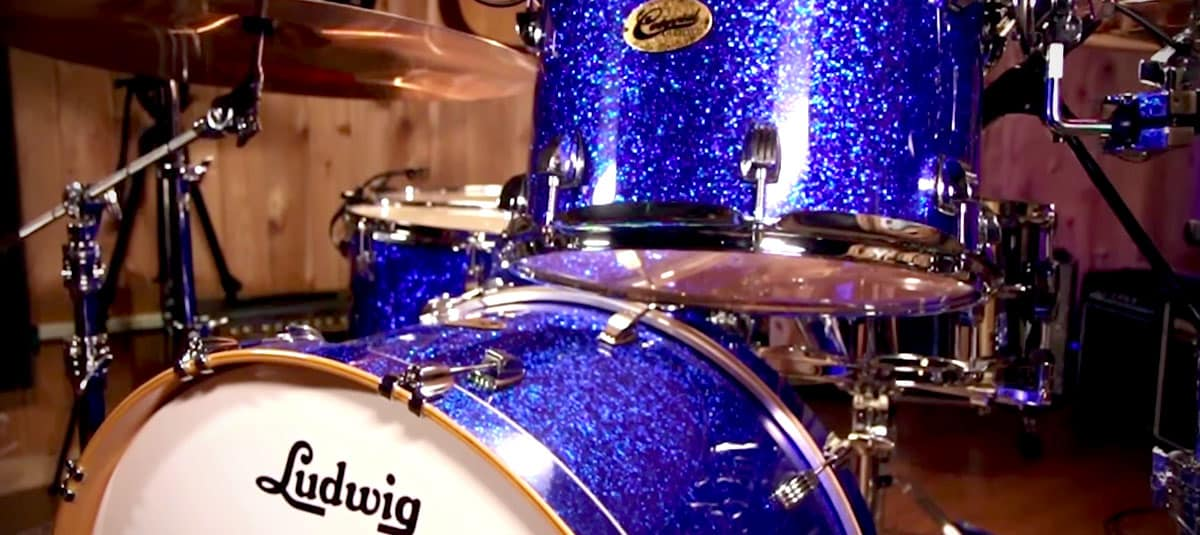 Product Spotlight: The Ludwig Centennial Drum Kit