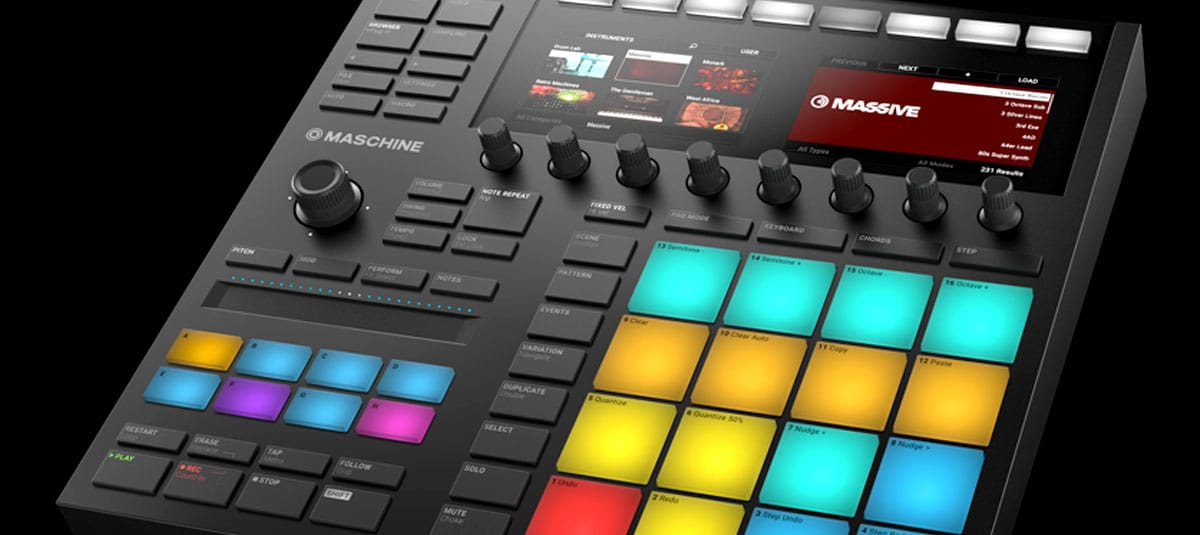 Native Instruments Maschine MK3 and Komplete Kontrol