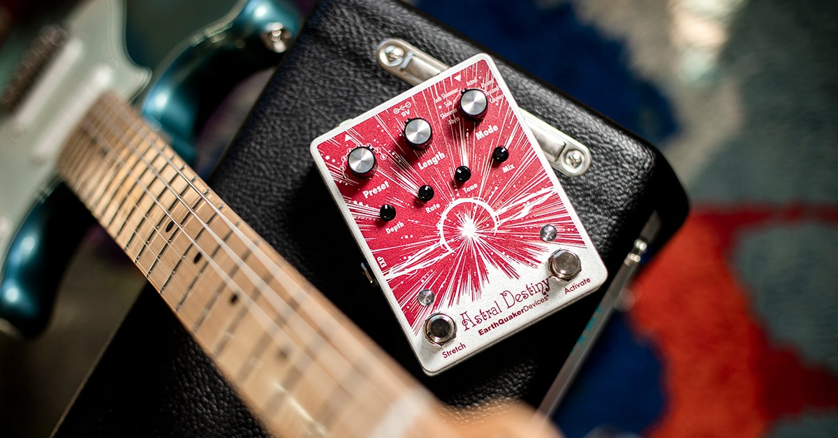 EarthQuaker Devices Astral Destiny | Overview with Jamie Stillman & Sarah Lipstate