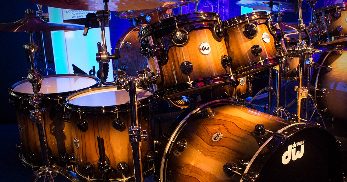 Limited Edition DW Pure Tasmanian Timber Drum Kit
