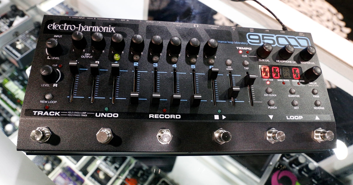 Electro-Harmonix Releases the 95000 Performance Loop Laboratory