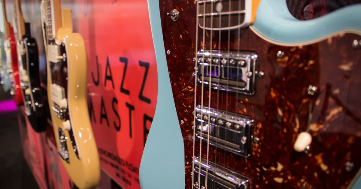 Fender Launches 60th Anniversary Jazzmasters