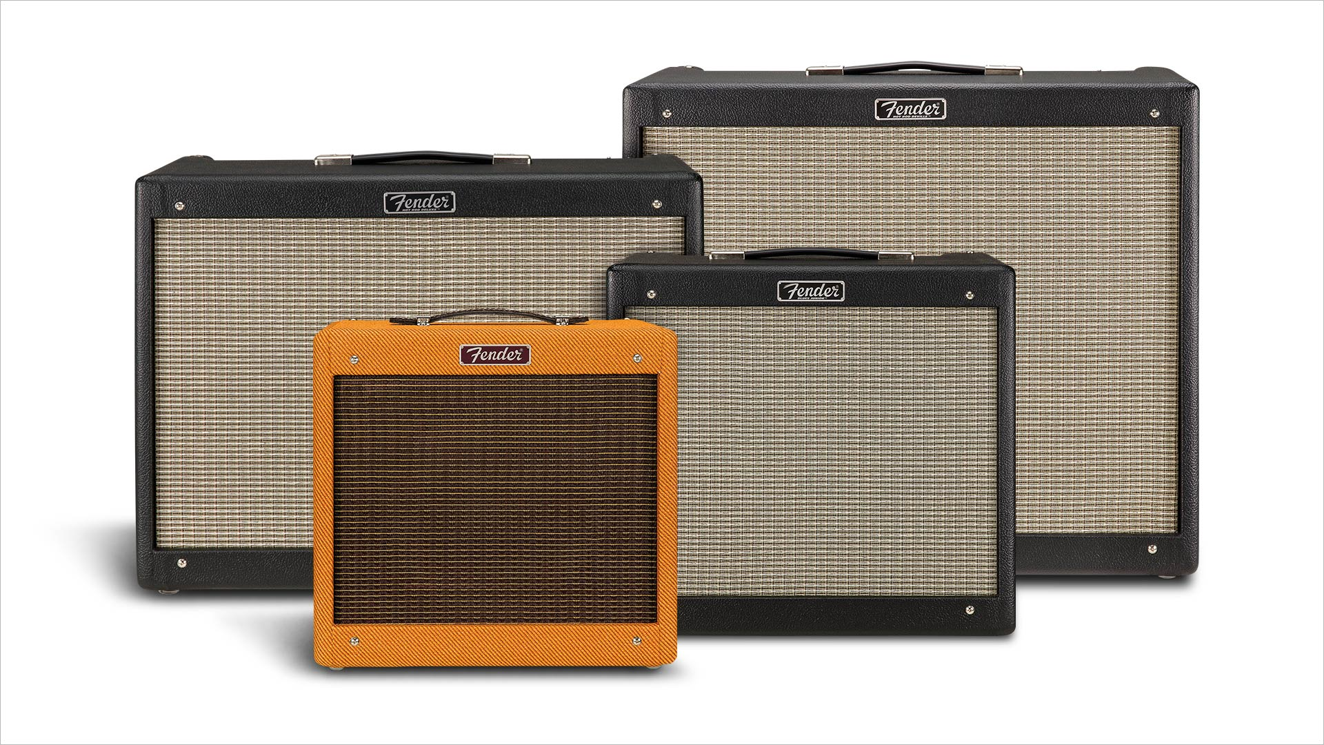 A New Generation of Fender® Hot Rod Amplifiers