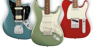Fender Launches the Player Series Guitars and Basses