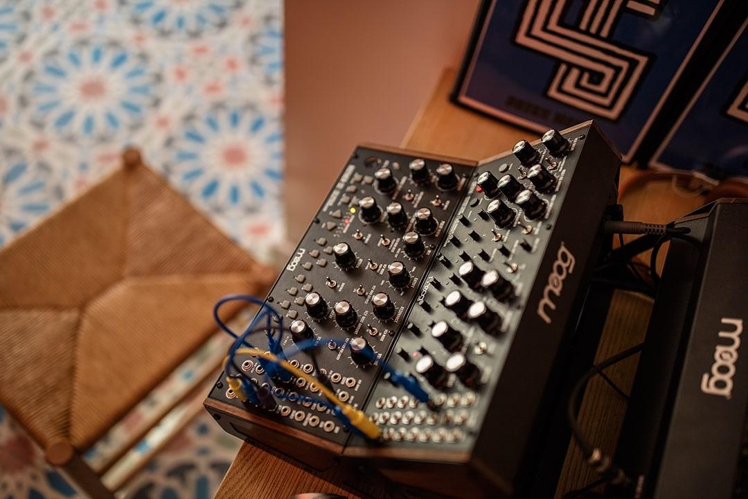Moog Dfam Semi Modular Analog Percussion Synsthesizer Gc