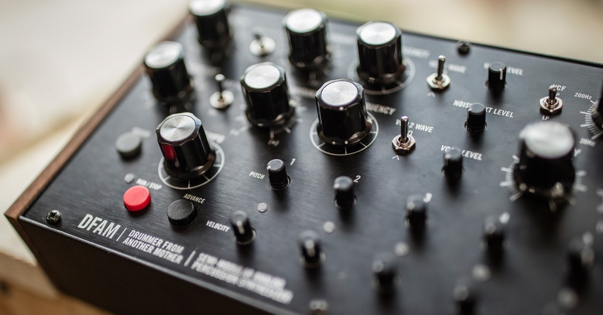 Moog DFAM Semi-Modular Analog Percussion Synsthesizer