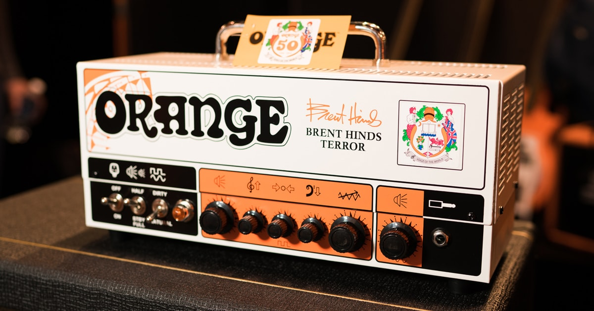 Orange Amplifiers Introduces the Brent Hinds Terror 15 Watt Guitar Amp Head