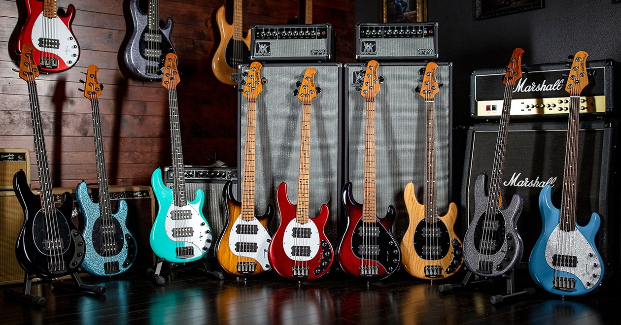 Ernie Ball Music Man Reimagines Iconic StingRay Basses