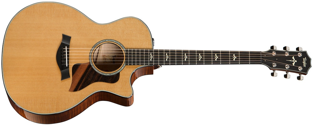 Taylor 614ce V-Class Acoustic Electric Guitar Image