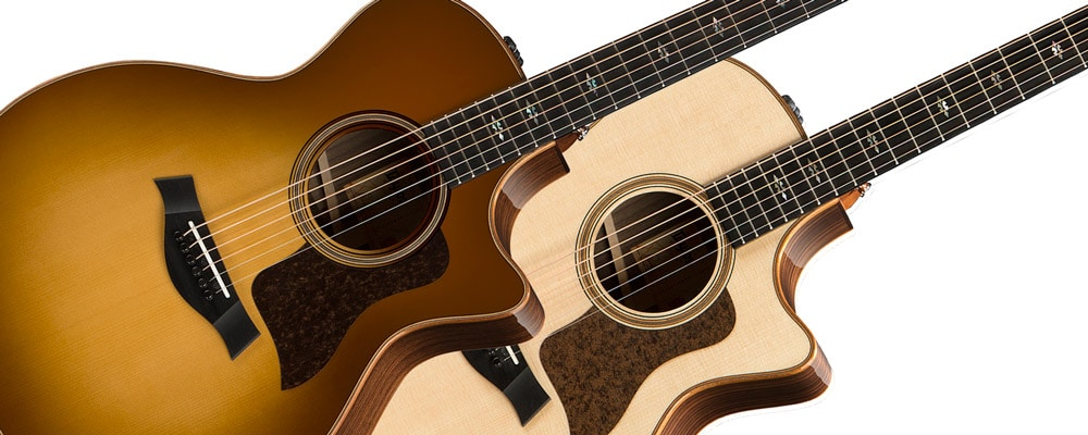 Taylor 714ce V-Class Acoustic Electric Guitar Image