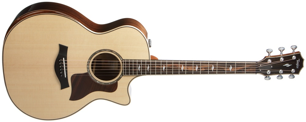 Taylor 814ce DLX V-Class Acoustic Electric Guitar Image