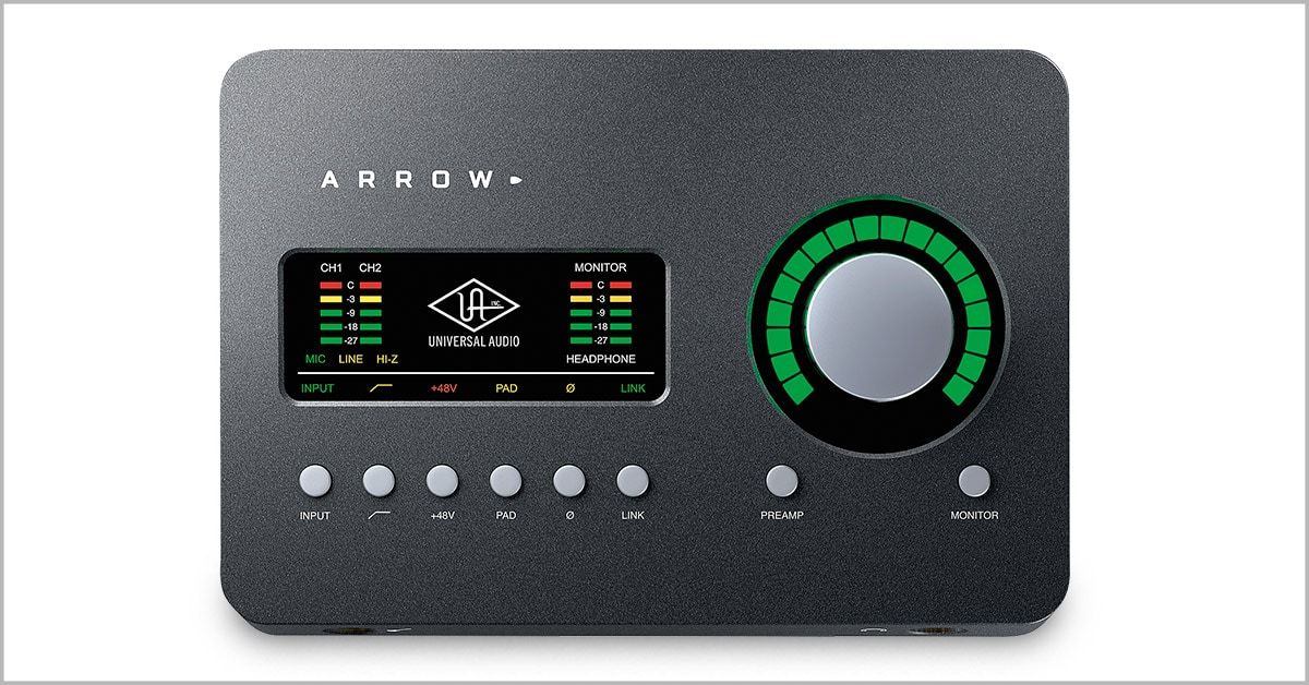 Introducing the Universal Audio Arrow Recording Interface
