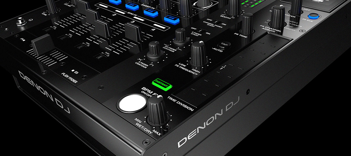 Denon X1800 PRIME 4-Channel Club Mixer