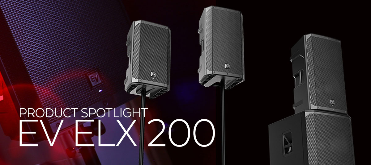 Electro-Voice ELX200 Portable Powered Loudspeaker Series