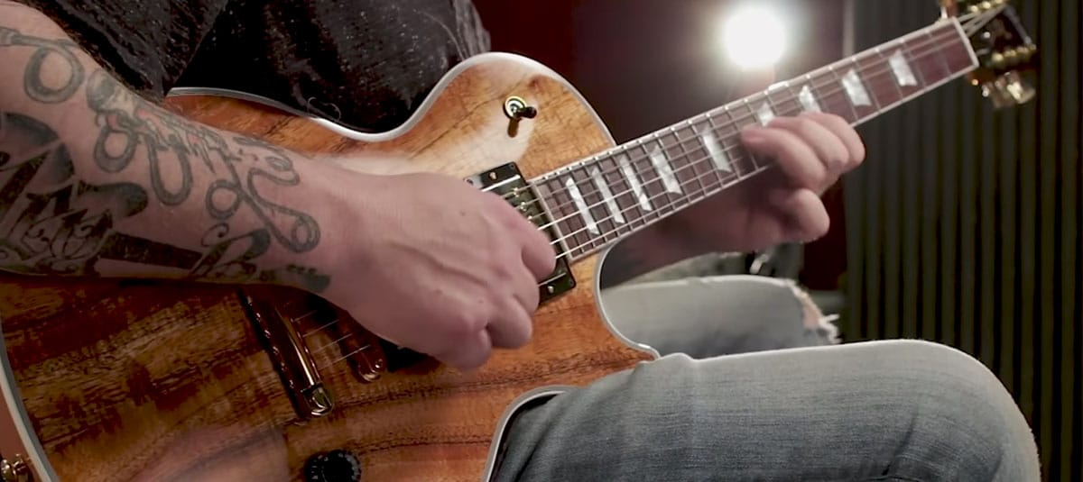 Josh Smith Demos the Gibson Les Paul KOA - Solid Body