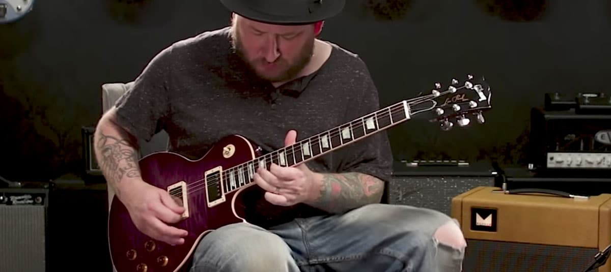 Josh Smith Demos the Gibson Custom Les Paul Custom Pro Purple Edge